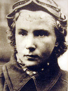 Lydia Litvyak was history's highest scoring female ace.