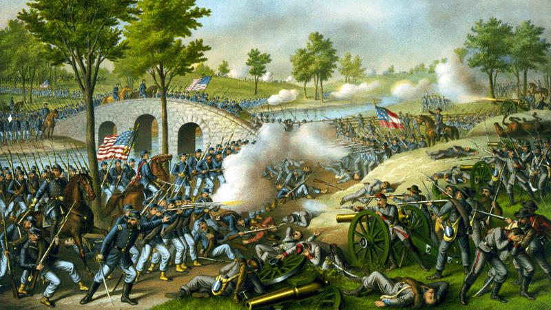 Quatre mille Américains sont morts à Antietam le 17 septembre 1862. La bataille est considérée comme le jour le plus sanglant de l'histoire des États-Unis.