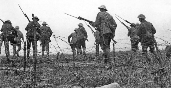 As many as 20,000 British and Commonwealth troops died in the opening day of the Battle of the Somme.