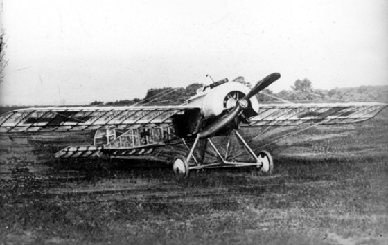An acetate covered Fokker monoplane. (image courtesy WikiCommons)