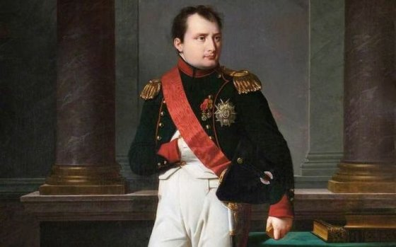 Napoleon reportedly had the hands of a model. So why did he always tuck one into his tunic?