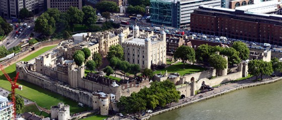 The Tower of London. (Image source: WikiCommons.)
