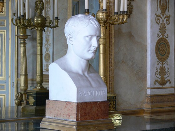 Bust of Napoleon by Antoine-Denis Chaudet. (Image source: WikiCommons)