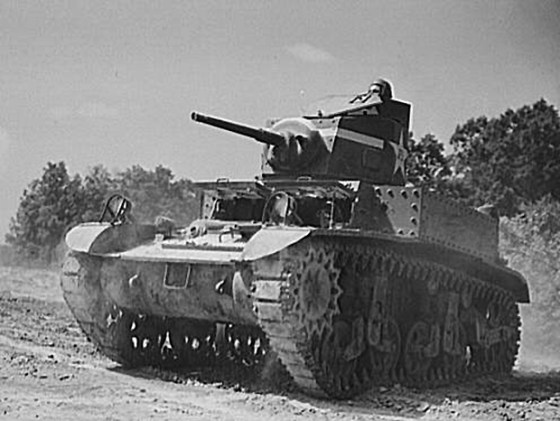 "More than 25,000 M3 and M5 Stuart or ""Honey"" tanks were built in the U.S. between 1941 and 1944. The thin-skinned fighting vehicle carried a modest 37-mm main gun and two .30-caliber machine guns (which incidentally are also still in use in a number of armies). Although largely obsolete from the very day production began, the Stuart served in a number of armies of the developing world well into the Post War period. Surplus tanks were sold off to a number of Latin American powers. As recently as 2012, the Paraguayan Army maintained a handful of models. (Image source: Wikimedia Commons)"