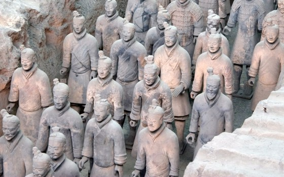 The Xia Dynasty could wield an army of 12,000 men. (Image source: WikiCommons Media)