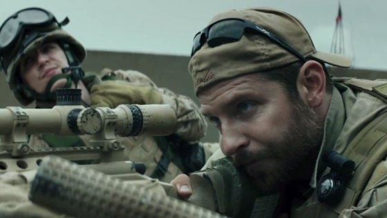 Bradley Cooper in Clint Eastwood's latest film, American Sniper. (Image Source: Warner Bros. handout)