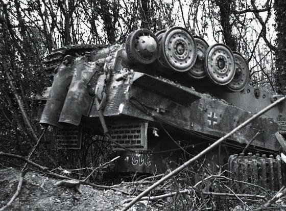 Image result for ww2 german tiger tank destroyed