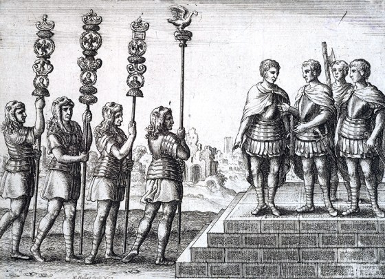 The Romans considered sending their legions to the island west of Britain. (Image source: WikiCommons)