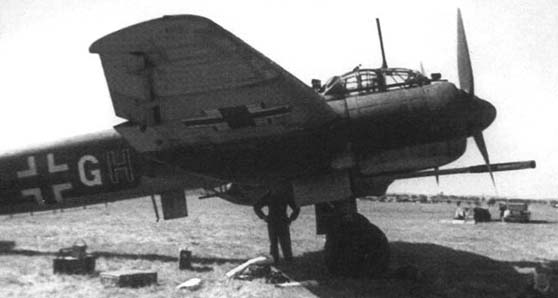 The Ju-88. (Image source: WikiCommons)