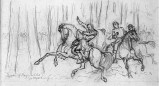 The death of General Reynolds at Gettysburg.