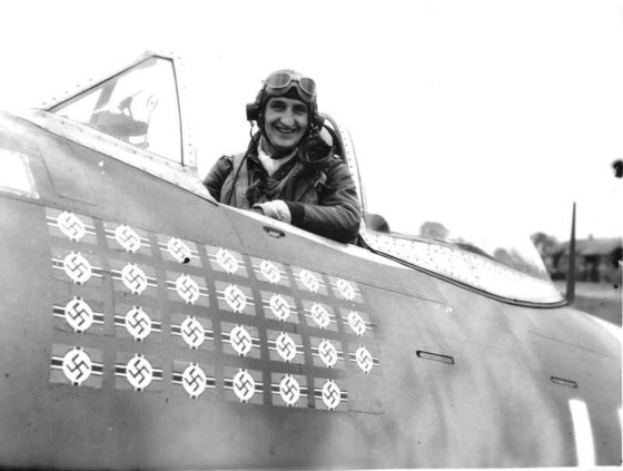 "Francis ""Gabby"" Gabreski, America's top P-47 ace."