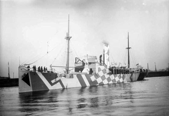 HMS Polyanthus. (Image source: WikiCommons)
