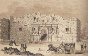 The Alamo. (Image source: WikiCommons)