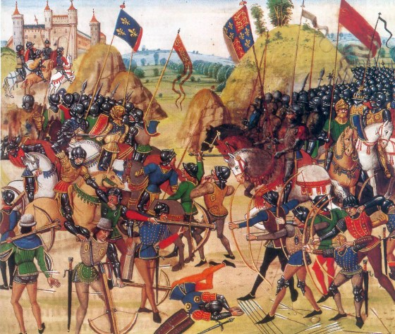 The Battle of Crécy — An Interactive Look at England's 1346 'Victory in Europe'