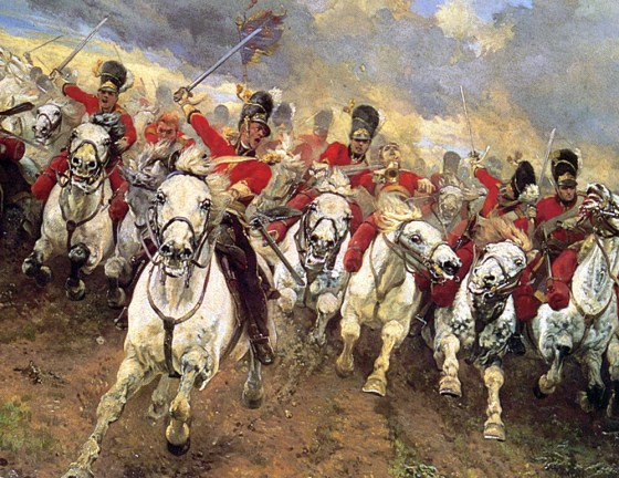 Waterloo-themed books, apps, movies and more are charging into stores for the battle's 200th anniversary. (Image source: WikiCommons)