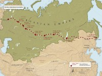 The Trans-Siberian Express in 1904. CLICK TO ENLARGE.