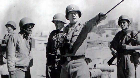 Historians doubt Patton's claims that he was involved with his wife's niece. (Image source: WikiCommons)