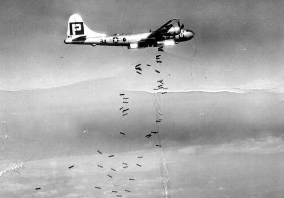 Operation Matterhorn ground Japanese resistance down throughout 1945, (Image source: WikiCommons)