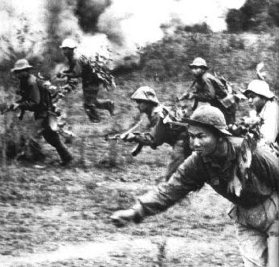 It wasn't just VC guerrillas that infiltrated South Vietnam via the Ho Chi Minh trail, but entire regiments of NVA regulars. (Image source: WikiCommons)