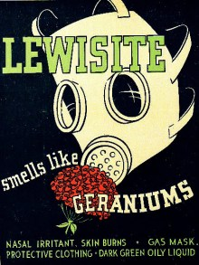 Despite its pleasant fragrance, lewsite was deadly poison. (Image source: WikiCommons)