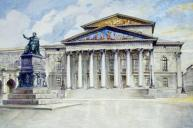 The National Theatre in Munich. (Image source: Public Domain)