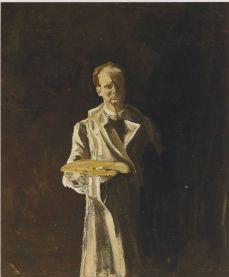 A self portrait. (Image source: http://www.museumsyndicate.com/Public Domain)