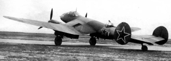 The Ye-2 medium bomber was ill-suited for long-range strikes against Berlin. (Image source: WikiCommons)