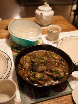 Chicken Marengo. (Image source: WikiCommons)