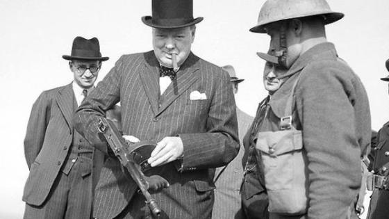 Winston Churchill had no intention of seeking terms from Hitler during the dark days of 1940. The same cannot be said of some of his closest advisors. (Image source: Imperial War Museum)