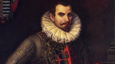 Hernan Cortes looking every inch the villain. (Image source: WikiCommons)
