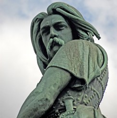 Vercingetorix's moustache had a lot of Gaul! (Image source: WikiCommons)