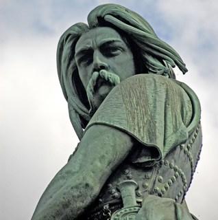 Vercingetorix's moustache had a lot of Gaul! (Image source: WikiCommons)