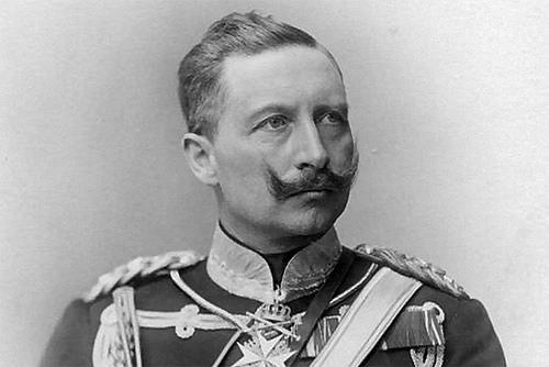 Kaiser Wilhelm II. (Image source: WikiCommons)