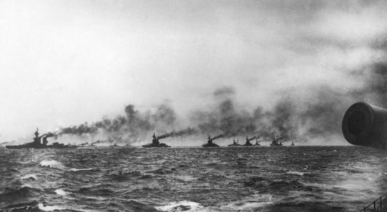 Two-hundred and fifty ships took part in the 1916 Battle of Jutland. More than 8,500 were killed. Britain's Royal Navy museum plans to commemorate the epic clash in 2016. (Image source: NMRN)