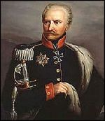 """Prussia's Gebhard Leberecht von Blücher was nicknamed """"Marshal Forward"""" by his troops because of his aggressive style of fighting. (Image source: WikiCommons)"""