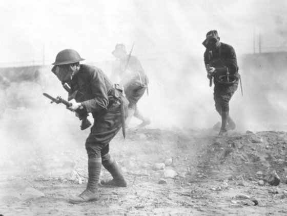 Doughboys and Gas — American Chemical Weapons in World War One