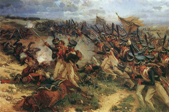 Before becoming one of the Western world's foremost military thinkers, Carl von Clausewitz fought in the Napoleonic Wars. He experiences in battles like Borodino would have influenced his most famous work, On War. (Image source: WikiCommons)