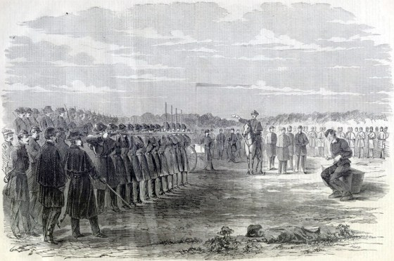 How did a Union soldier condemned to die by firing squad for treason after defecting to the Confederacy end up in the Arlington National Cemetery? (Image source: WikiCommons)