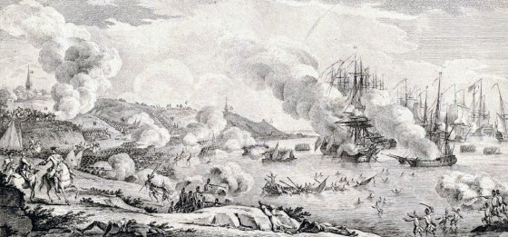 The fighting in North America escalated and spread, becoming the global Seven Years War. (Image source: WikiCommons)