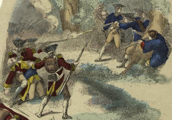 A minor skirmish between Virginia militia and French troops deep in the remote Ohio Country in 1754 touched off what would become the Seven Years War, history's first modern global conflict. Amazingly, it was the actions of a young officer by the name of George Washington that precipitated the firefight. (Image source: WikiCommons)