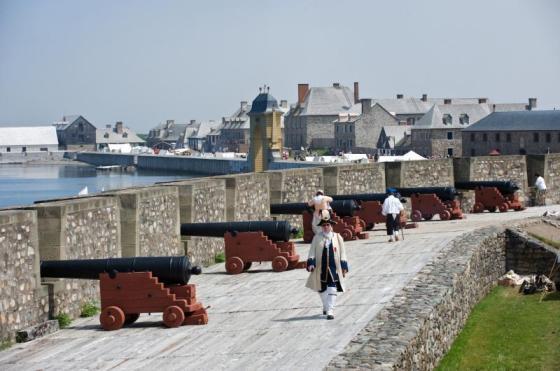 The Fortress Louisbourg. (Image source: Tourism Nova Scotia)