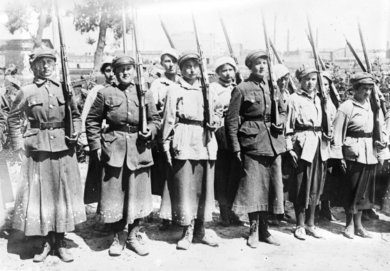 Poland's legion of women volunteers. (Image source: WikiCommons)