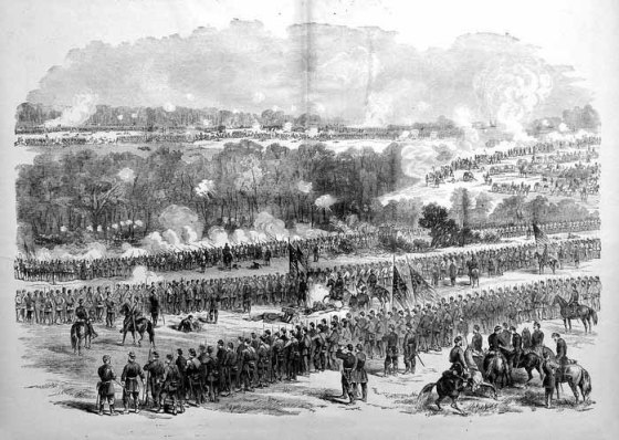 McClelland's army was vulnerable to a potentially war-ending knock out blow in 1862. (Image source: WikiCommons)
