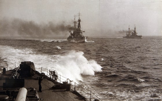 Britain's National Museum of the Royal Navy and the Imperial War Museum are lifting the curtain on an epic exhibit commemorating the 100th anniversary of the Battle of Jutland. (Image source: Photo Album belonging to Admiral Sir David Beatty, 1916)