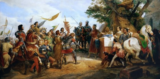 While not as famous as Hastings, Crecy or Agincourt, a small battle in Flanders in 1214 would have far-reaching consequences for history. In fact, the Battle of Bouvines indirectly contributed to the rise of constitutional democracy. (Image source: WikiCommons)