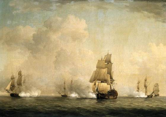 Royal Navy Commodore Peter Warren used a clever ruse to capture one French trading vessel after another following the fall of Louisbourg i 1745. The scheme netted the Irish-born mariner prize money equal to $25 million in today's currency.