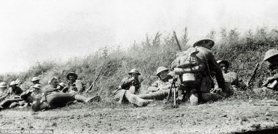 Ordinary soldiers weren't permitted to carry cameras during the First World War, but that didn't stop Tommies from stealing snapshots of their lives in the trenches when their officers weren't looking. Many of these images appear in a new book from Pen & Sword Books. (Image source: Richard Van Emden)