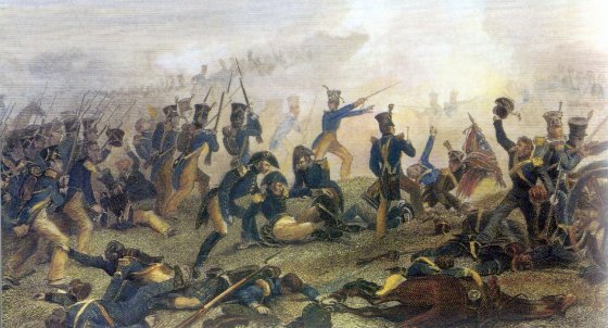 Lundy's Lane was one of the bloodiest battles of the War of 1812. The final death toll was 260. (Image source: WikiCommons)