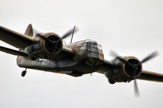 The Bristol Blenheim. (Image source: WikiCommons)