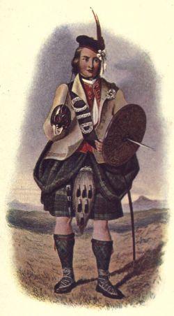 A Highland warrior. (Image source: WikiCommons)